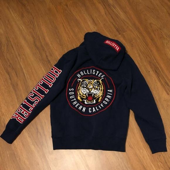 22c1dc32 Hollister Jackets & Coats | Southern California Tiger Hoodie | Poshmark